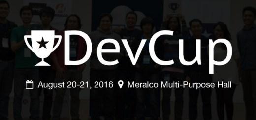 WebGeek DevCup Hackathon 2016   Cebu Finest