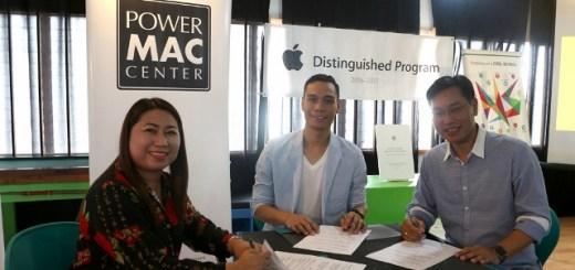 Power Mac Center partners with Apple Distinguished Program Awardee in Cebu | Cebu Finest