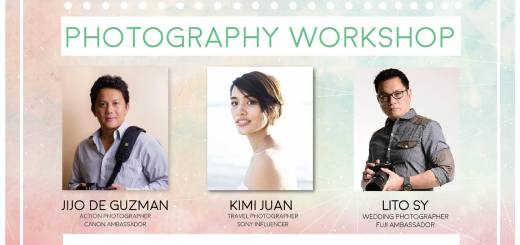 """Make Your Life Colourful!"" Photography Workshop at SM City Cebu 