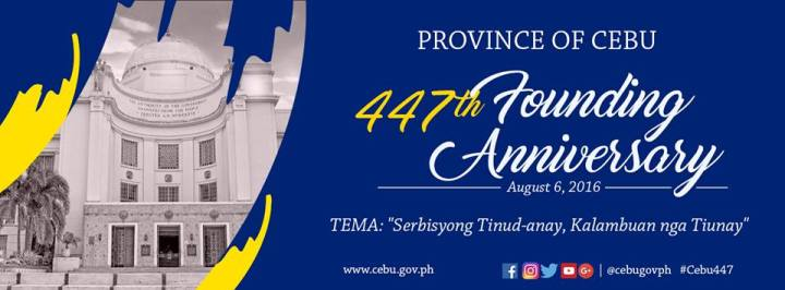 447th Cebu Founding Anniversary: August 6 declared a special non-working holiday | Cebu Finest