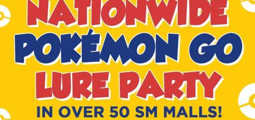 The SM Supermalls Pokemon Go Lure Party | Cebu Finest
