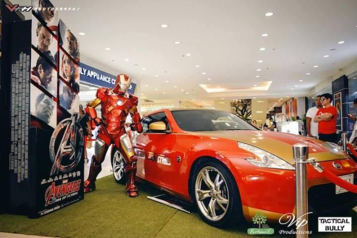 The Iron Man Car, a superhero fan's dream car now in Cebu
