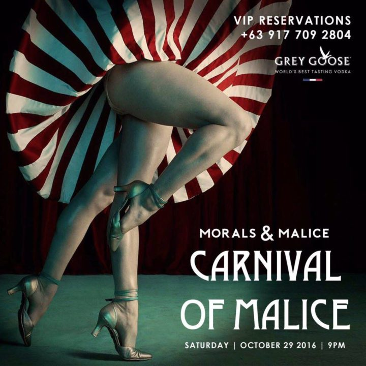 "Get Wicked this Halloween with ""Carnival of Malice"" at Morals and Malice 