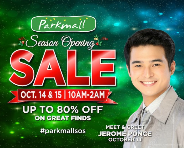 The Parkmall Season Opening Sale to Welcome the Holidays in Cebu | Cebu Finest