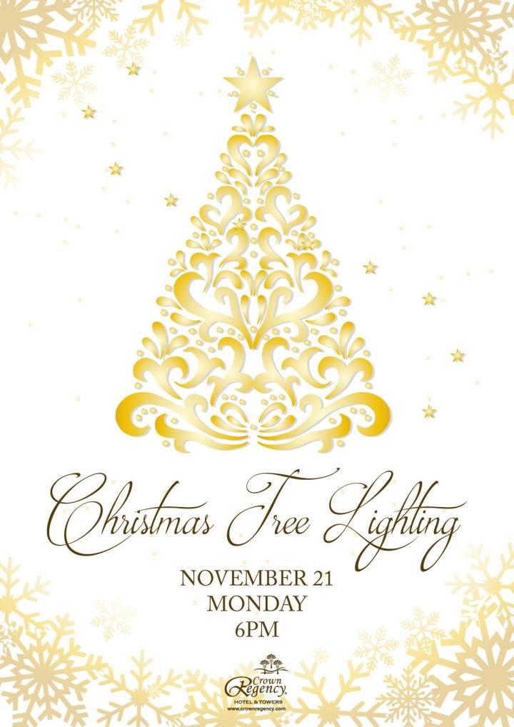 Christmas Tree Lighting at Crown Regency Hotel & Towers | Cebu Finest