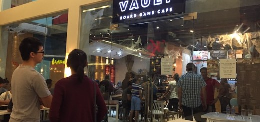 Enjoy food and games at Vault Board Game Cafe | Cebu Finest