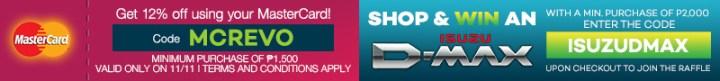 Shop and Win an Isuzu D-MAX with Lazada Philippines Online Revolution | Cebu Finest