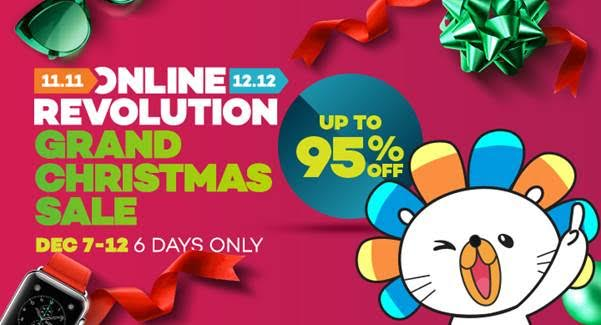 Lazada Philippines Wraps Up Online Revolution with a 6-day Grand Christmas Sale   Cebu Finest
