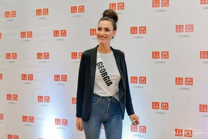 Miss Universe 2016 Candidates visit UNIQLO Store in Cebu | Cebu Finest
