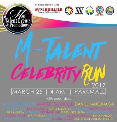 Join the M-Talent Celebrity Run 2017 in Cebu | Cebu Finest