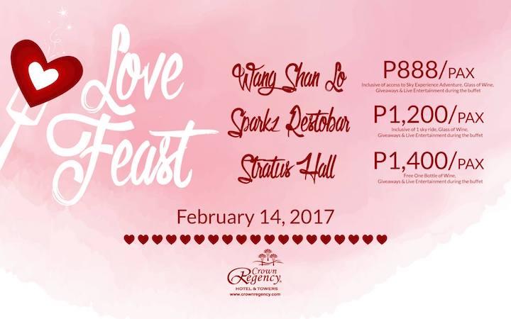 Celebrate Love with Crown Regency's Valentine's Day Promo   Cebu Finest