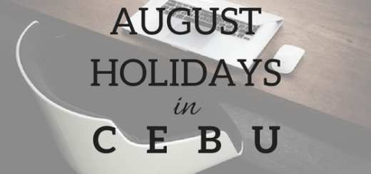 Cebu to enjoy 3 holidays this August | Cebu Finest