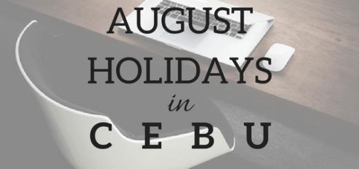 Cebu to enjoy 3 holidays this August | Cebu Finest
