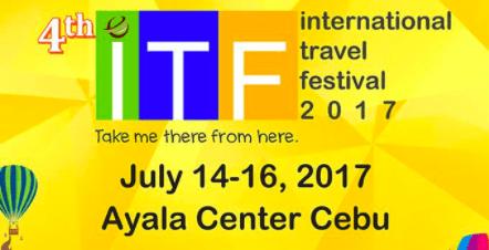 International Travel Festival 2017 In July At Ayala Center Cebu