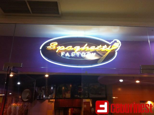 All that Spaghetti Factory | Cebu Finest