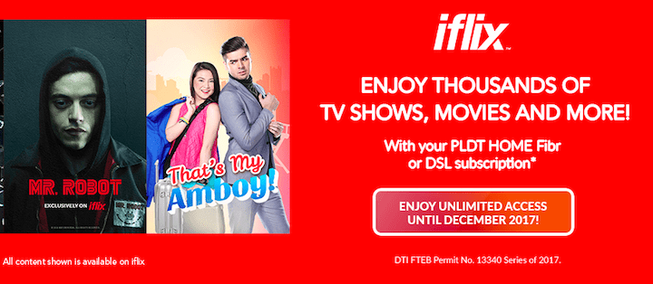 Watch thousands of TV shows, movies on FREE iflix access from PLDT HOME | Cebu Finest