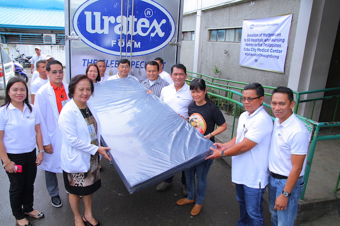 Cebu City Medical Center among the recipients of Uratex Project 50 Program | Cebu Finest