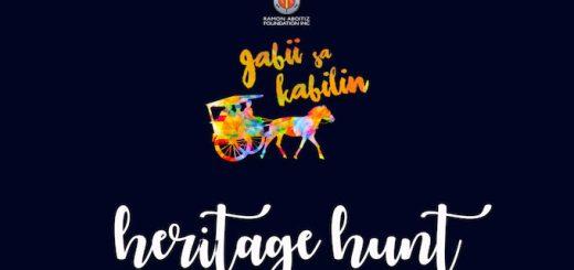 Gabii Sa Kabilin 2018 Heritage Hunt registration is now open | Cebu Finest