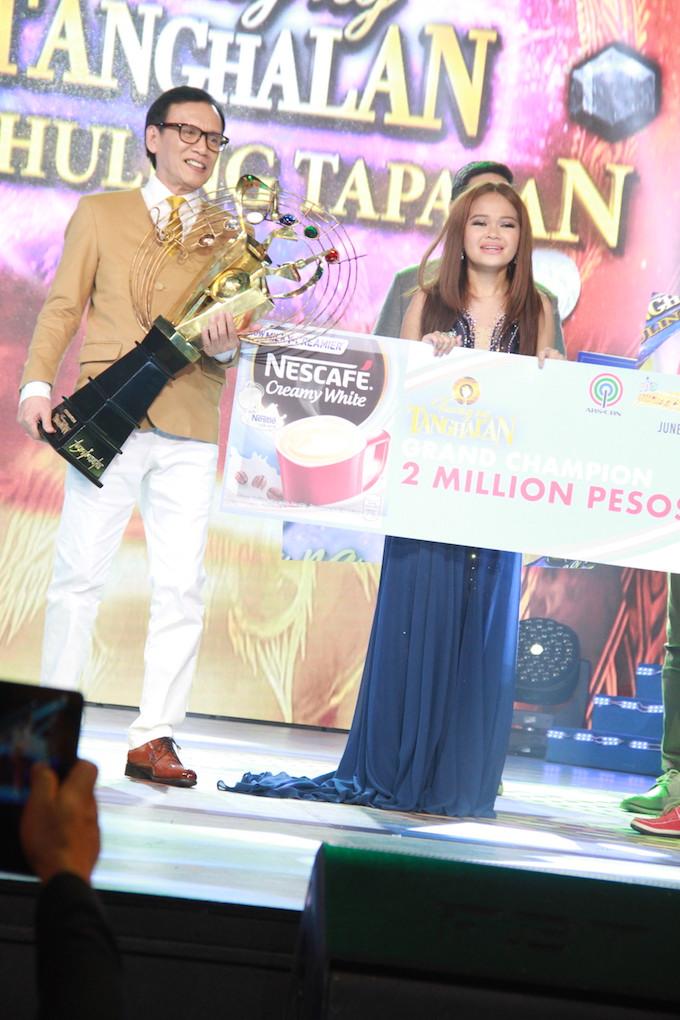 "Cebuana Janine Berdin is the newest ""Tawag Ng Tanghalan"" Grand Champion   Cebu Finest"