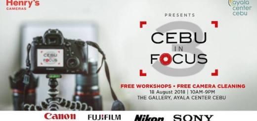 Henry's: Cebu In Focus 3 a one-day photography extravaganza in Cebu | Cebu Finest