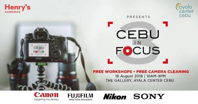 Henry's: Cebu In Focus 3 a one-day photography extravaganza in Cebu | Cebu Finest