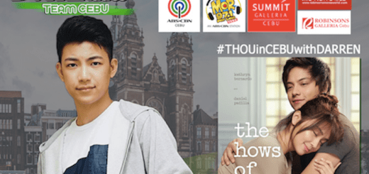 "#THOUinCEBUwithDARREN: KathNeil movie, ""The Hows Of Us"" Block Screening in Cebu with Darren Espanto 
