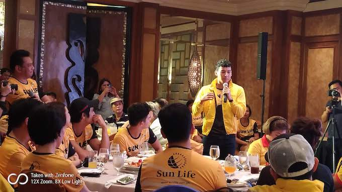 Piolo, Enchong and Sun Life execs to represent the company for Regent Aguila IronMan 70.3 in Cebu   Cebu Finest