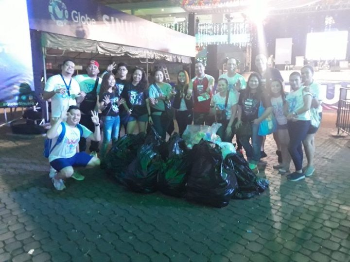Globe culminates two exciting festival weekends with big clean-up drives in Cebu and Iloilo | Cebu Finest