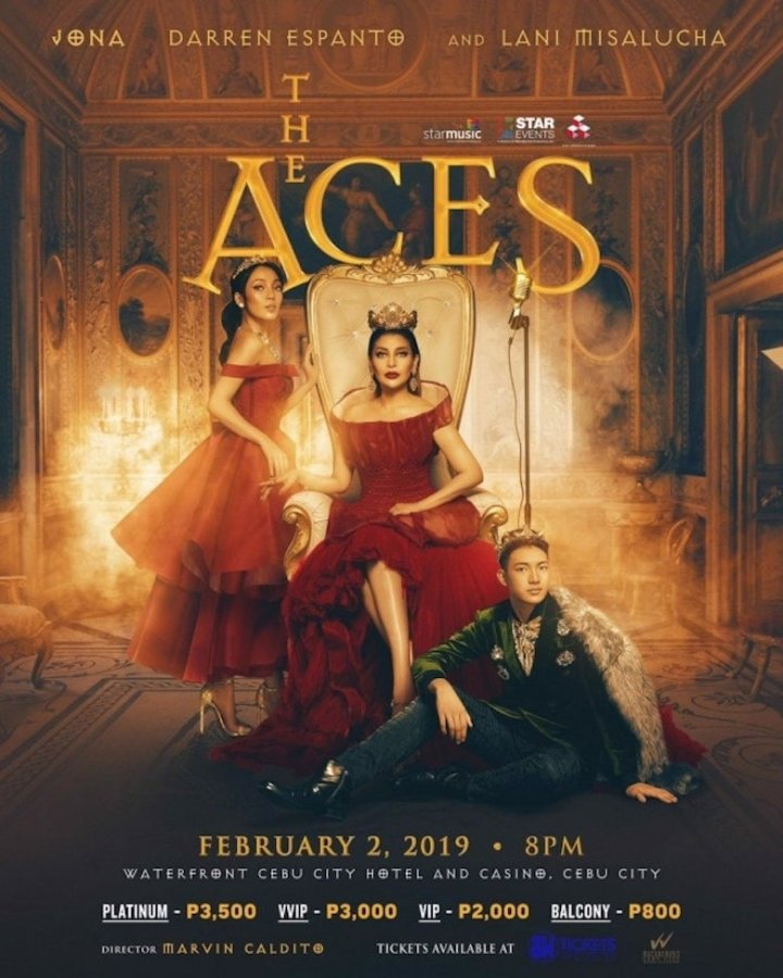 "In Concert: ""The Aces"" with three excellent singers in Cebu 