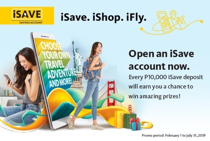 Win a free trip worth P1M or a 300K shopping spree with Maybank iSave accounts | Cebu Finest