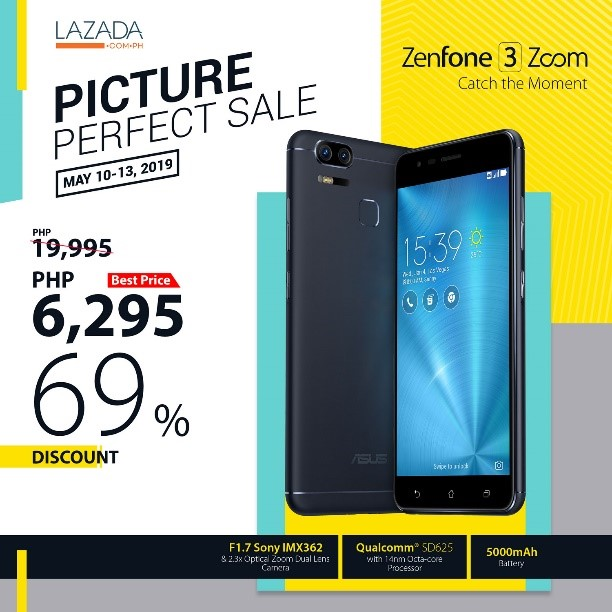 The ASUS ZenFone and Lazada Philippines Picture-Perfect Sale! | Cebu Finest