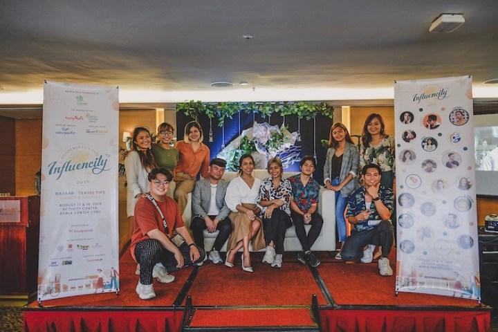 """Influencity: A Wanderlust's Fair"", booths, games, and prizes at Ayala Center Cebu   Cebu Finest"
