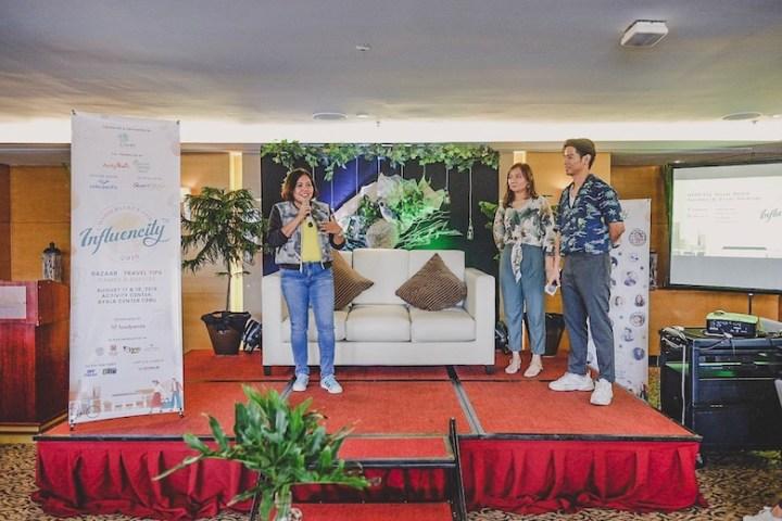 """Influencity: A Wanderlust's Fair"", booths, games, and prizes at Ayala Center Cebu | Cebu Finest"