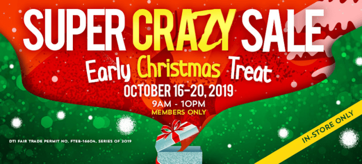 Super Crazy Sale at Landers Superstore Cebu, discounts of up to 50% and more deals   Cebu Finest