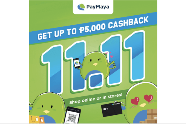 Kick off the holiday shopping season with PayMaya 11-11 amazing deals!