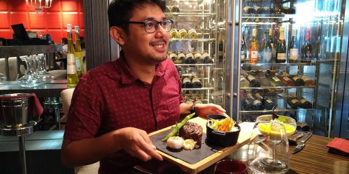 Marble + Grain Steakhouse's Filet Mignon for Lunch | Cebu Finest