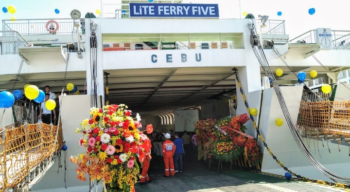 "Lite Shipping Corp. launched brand new RINA class ship ""M/V Lite Ferry Five"" 
