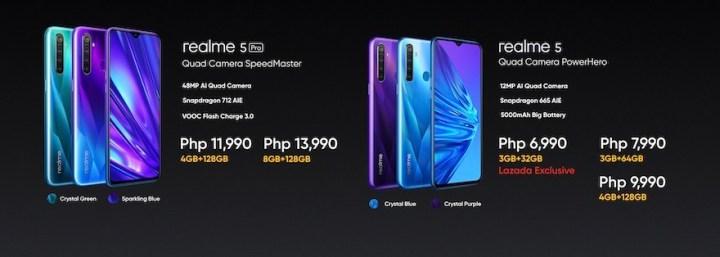 Realme Philippines offers realme 5 series smartphones with quad-camera under 15K price tag | Cebu Finest