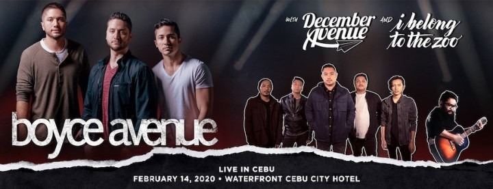 Boyce Avenue Live in Cebu on Valentine's Day | Cebu Finest