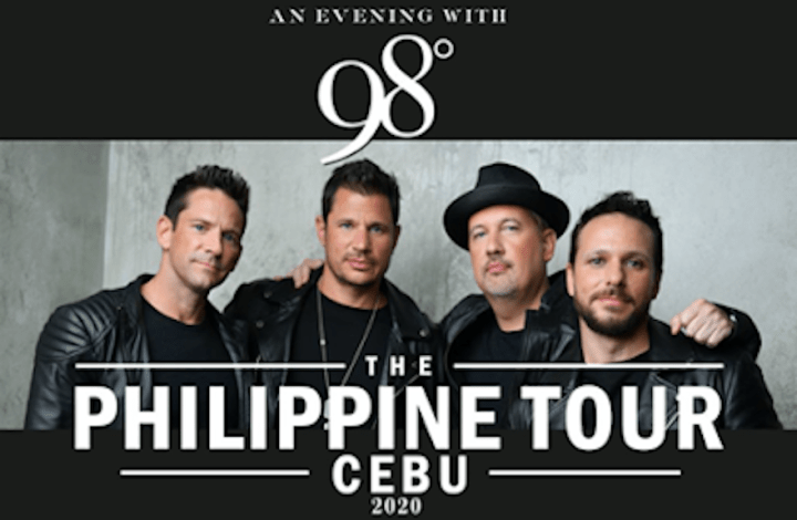 An Evening with 98 Degrees: The Philippine Tour Cebu 2020 | Cebu Finest