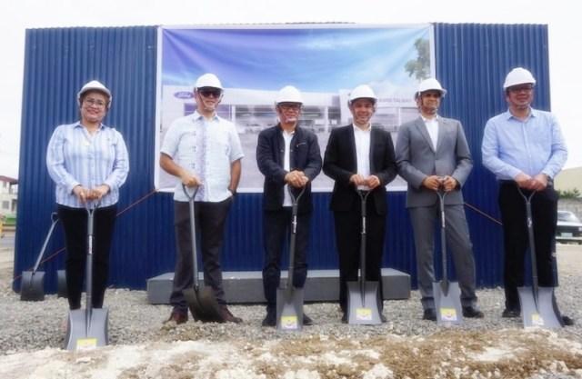 Ford PH starts 50th dealership facility construction in Cebu | Cebu Finest