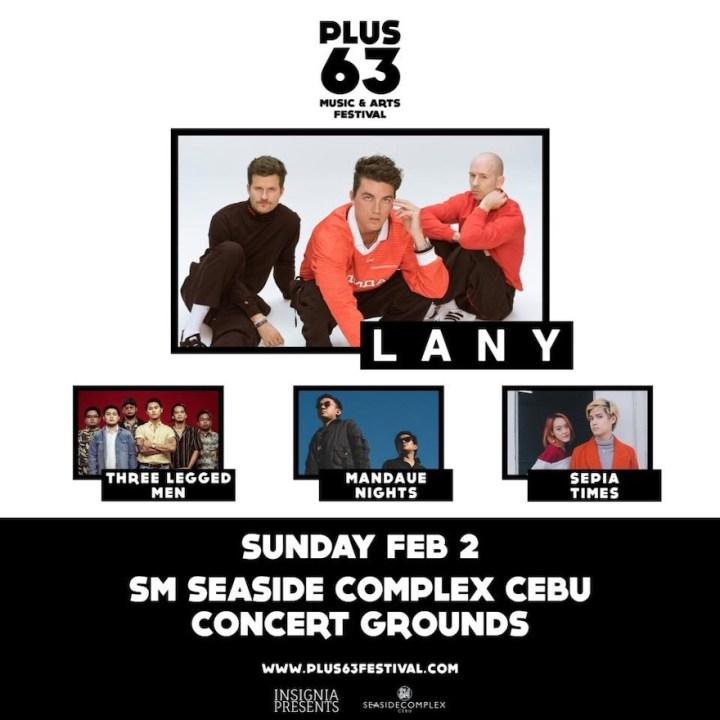 Plus63 Music and Arts Festival 2020: LANY in Cebu | Cebu Finest