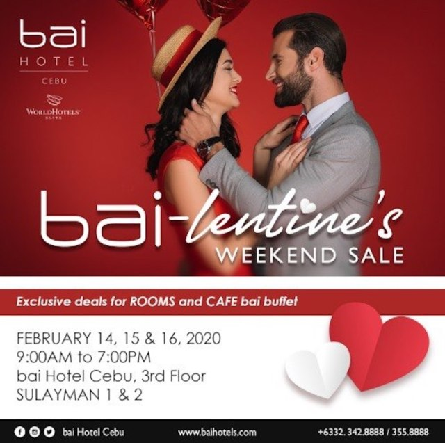 It's an exceptional bai-lentine's Day this February with you and for you at bai Hotel Cebu! | Cebu Finest