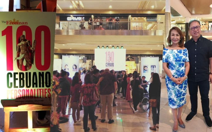 "Novuhair supports ""The Freeman 100 Cebuano Personalities"" in Cebu with a VIP treatment 