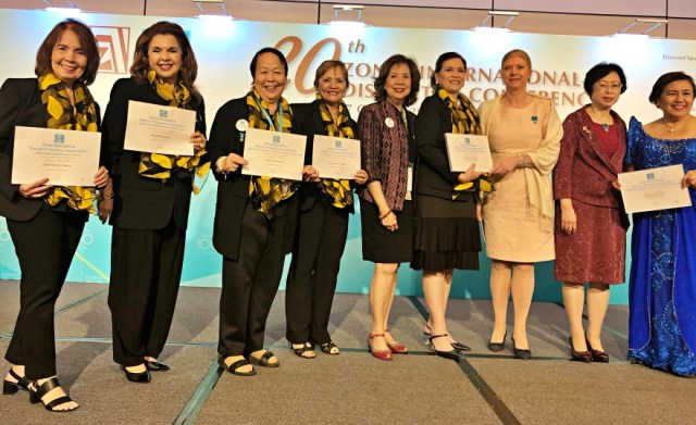 Zonta Club of Cebu II reaps awards at District Conference | Cebu Finest