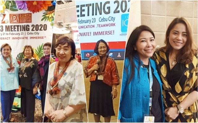 Zonta Clubs of Cebu 1 & 2 spearhead Zonta District 17 Area 3 2020 Meeting   Cebu Finest