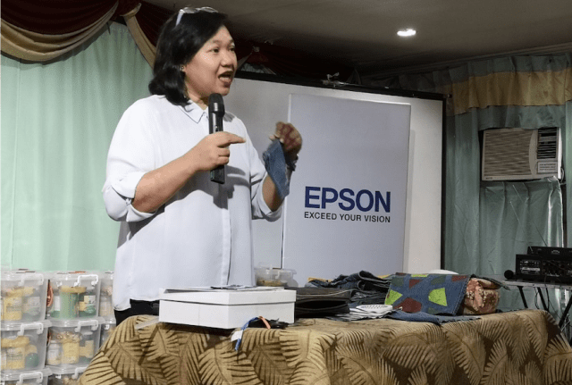 Greening The Future: Epson rolls out upcycling initiatives | Cebu Finest