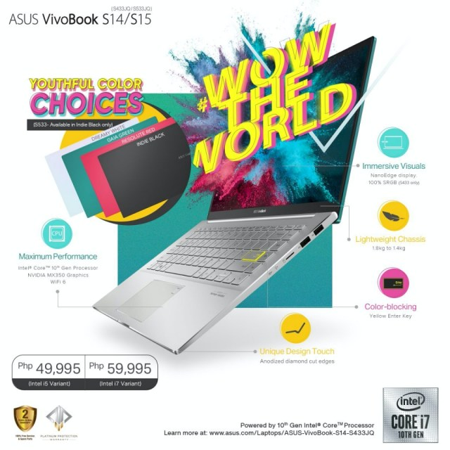 The Asus VivoBook S14 (S433) and S15 (S533) | CebuFinest