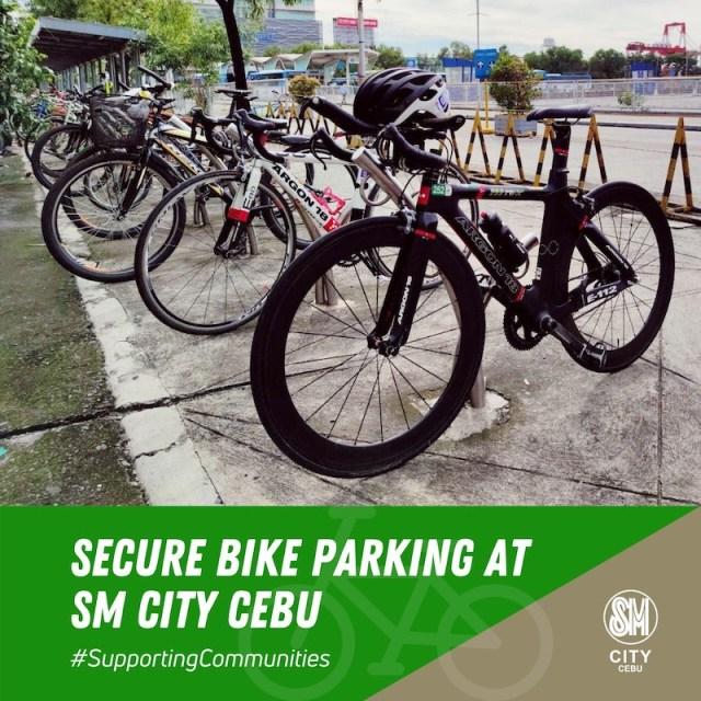 Getting your essentials at SM City Cebu on bikes | CebuFinest