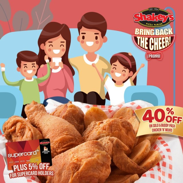 Shakey's Philippines joins every Filipino family's BER months with Chicken 'N' Mojos Promo   CebuFinest